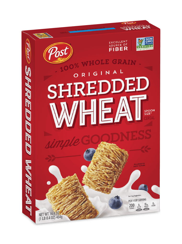 Post Shredded Wheat original box