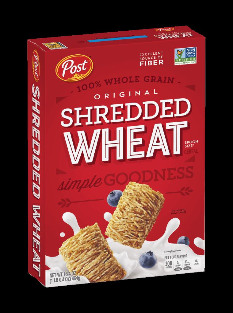 Post Shredded Wheat original box